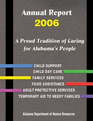 2006 - Alabama Department of Human Resources