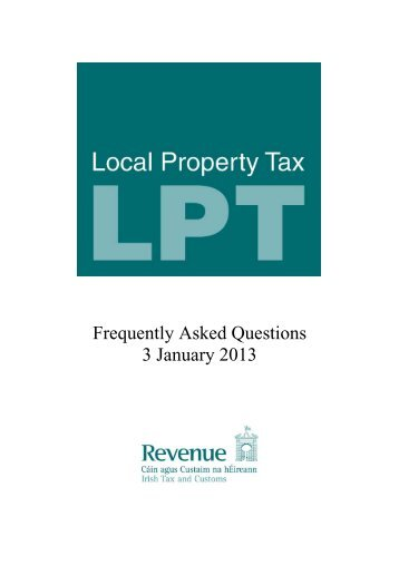 Local Property Tax (LPT) - TheJournal.ie