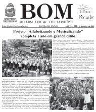 """Projeto """"Alfabetizando e Musicalizando"""" completa 1 ano ... - Peruíbe"""