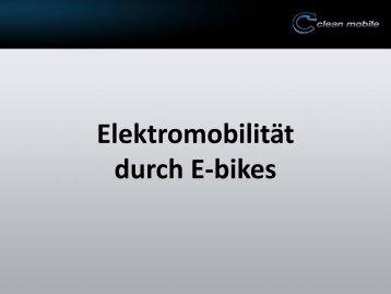 Elektromibilität durch E-bikes - m+p gruppe