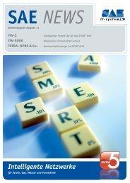 Intelligente Netzwerke - SAE IT-systems GmbH & Co. KG