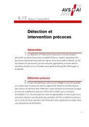 Détection et intervention précoces - Compasso