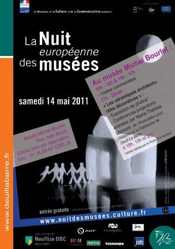 AumuséeMichelBourlet: - Deuil-la-Barre