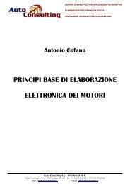 Fondamenti per la elaborazione elettronica dei ... - Auto Consulting