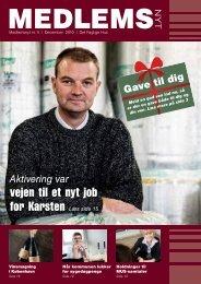 Medlemsnyt 4/2010 - Det Faglige Hus