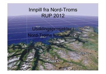 12 Nord-Troms næringsutfordringer - Troms fylkeskommune