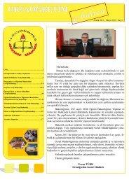 e-Bülten Sayı 1 - Ortaöğretim Genel Müdürlüğü - Milli Eğitim Bakanlığı