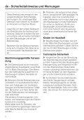 SEB 216 / SEB 217 Electro Comfort - Baur - Page 2