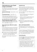 SEB 216 / SEB 217 Electro Comfort - Baur - Page 6
