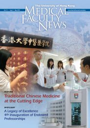 Volume 15 Issue 1 - HKU Li Ka Shing Faculty of Medicine - The ...