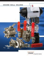 crane ball valves - Tundra Process Solutions Ltd.