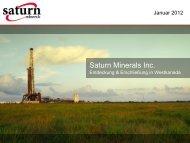 Saturn Minerals Inc.