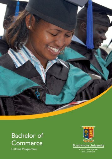 Bachelor of Commerce - Strathmore University
