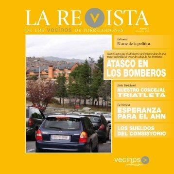 ATASCO EN LOS BOMBEROS - Vecinos por Torrelodones