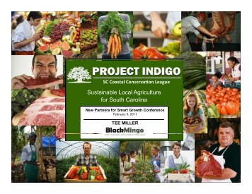 PROJECT INDIGO - New Partners for Smart Growth Conference