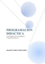 Economía de la Empresa. Joaquín Torán Fernández - Ecobachillerato