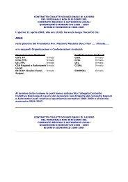 CCNL dipendenti - Agenzia di Sanità Pubblica della Regione Lazio