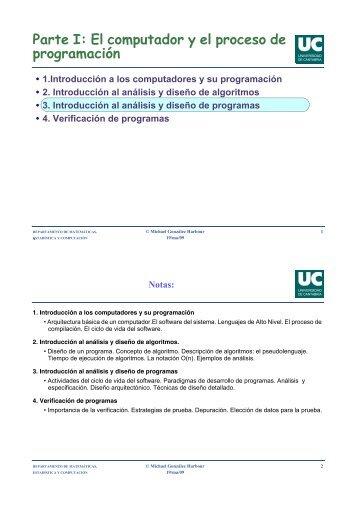 Introducción al análisis y diseño de programas - CTR - Universidad ...