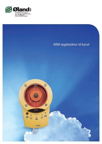 KRM røgdetektor til kanal