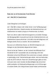 Rede Frank Bsirske 1 Mai 2012 - ver.di NEWS