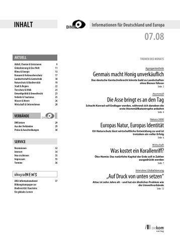 Juli 2008 - EU-Koordination
