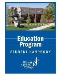 Education Program - Illinois Central College