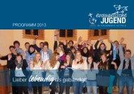 2013 KKjD Programmheft - Ev. Jugend im Kirchenkreis Hittfeld