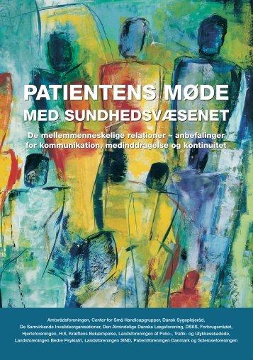 Patientens møde med sundhedsvæsenet