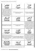 99 Names of ALLAH Azza Wa Jul - Noore Madinah Network - Page 7