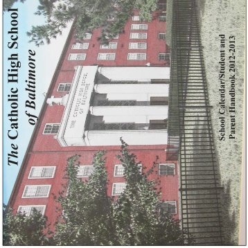 Calendar Cover.ai - The Catholic High School of Baltimore