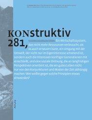 KONstruktiv 281, März 2011 - Kammer der Architekten und ...