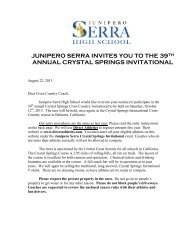 Crystal Springs Invitational - PrepCalTrack