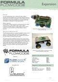 Formula Flowcode Datasheet - Matrix Multimedia Ltd - Page 7