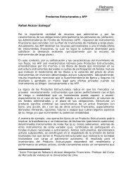 Rafael Alcázar. Artículo. Productos Estructurados y AFP. Revista ...