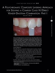 a polychromatic composite layering approach for solving ... - Heraeus