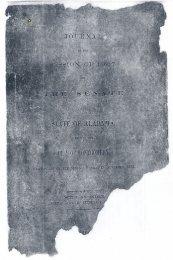 State of Alabama Senate Journal
