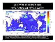 Ocean Winds from Scatterometry - Crosby
