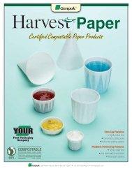 Harvest Paper Compostable Cups - Genpak