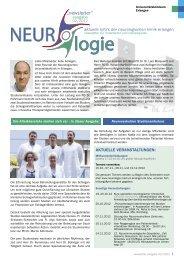 """newsletter"" - Neurologie - Universitätsklinikum Erlangen"