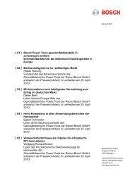 [ 01 ] Bosch Power Tools gewinnt Marktanteile in schwierigem ...