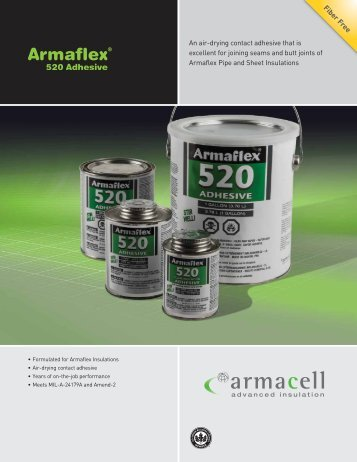 An air-drying contact adhesive that is excellent for joining ... - Armacell