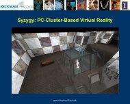 PDF slideshow - Syzygy