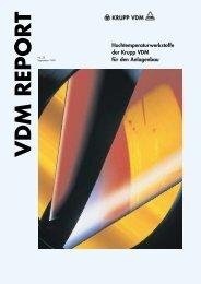Hochtemperaturwerkstoffe der Krupp VDM für den Anlagenbau