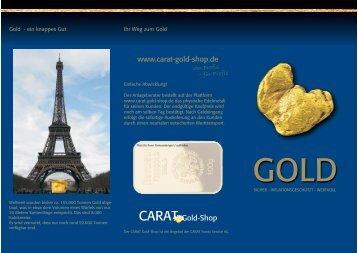 Broschüre Gold-Shop_aussen.cdr - Fladrich Versicherungsmakler ...