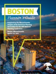 Planner's Guide - Boston Redevelopment Authority News