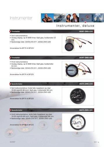 Instrumenter, deluxe - eHONDA