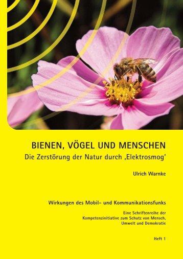 BIENEN, VÖGEL UND MENSCHEN - Mobilfunk mit Mass in Erlenbach