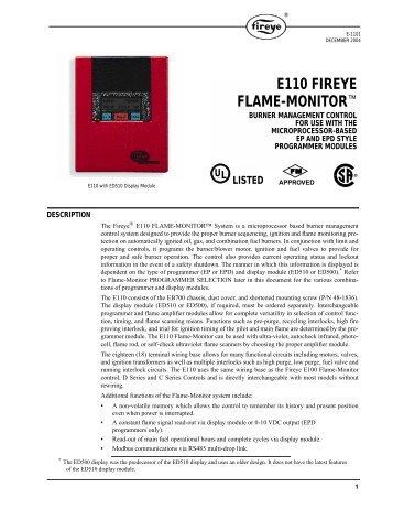 Fireye eb 700 wiring diagram wiring diagram manual e110 fireye flame monitor westmill industries e110 fireye flame monitoru201e bryan boilers fireye eb 700 wiring diagram swarovskicordoba Gallery