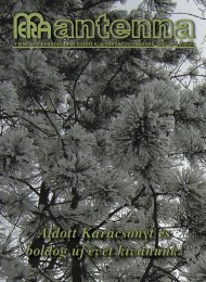 2007 4. szám - Magyar Evangéliumi Rádió