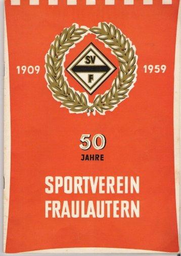 50 Jahre SV 09 Saarlouis-Fraulautern - TTSV Saarlouis-Fraulautern